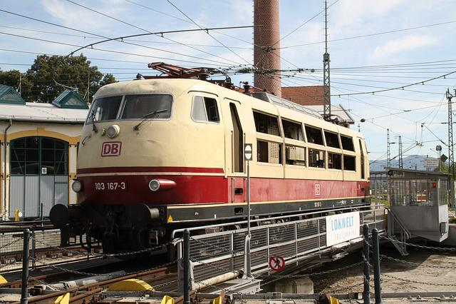 Electric Locomotive, Railway, Hub, Locomotive
