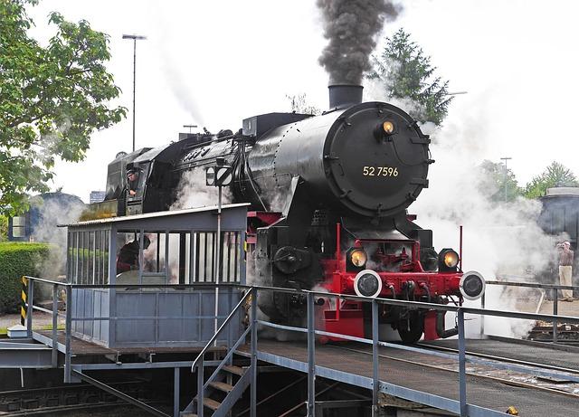 Steam Locomotive, Hub, Museum