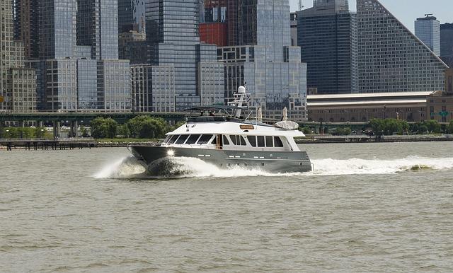 Boat, Ship, River, Hudson, New York, Nyc, Nautical
