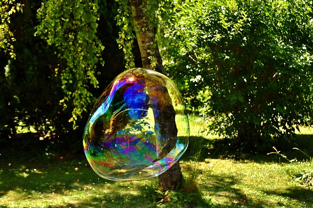 Huge, Soap Bubble, Puste Fix, Make Soap Bubbles