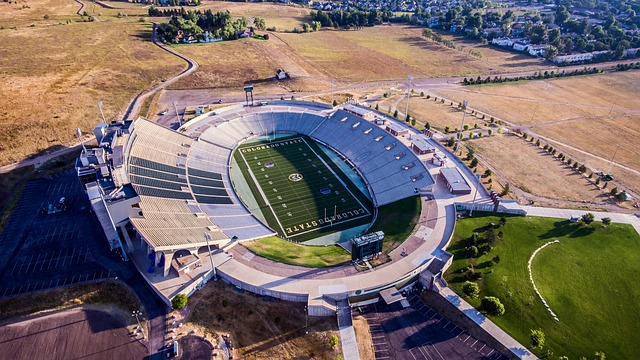 Football Stadium, Hughes Stadium, Fort Collins