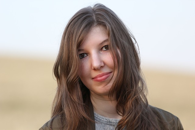 Portrait, Young Woman, Of Course, Summer, Face, Human