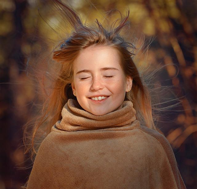 Person, Human, Female, Girl, Wind, Face, Hair