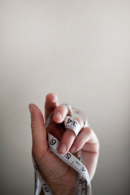 Fingers, Hand, Human, Measuring Tape, Palm
