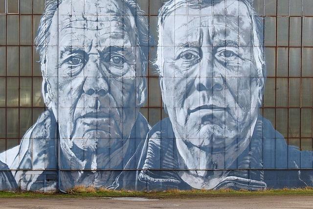 Buddy, Workers, Mural, Art, Graffiti, Human