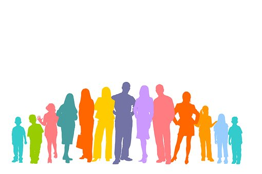 Crowd, Human, Silhouettes, Personal, Group Of People