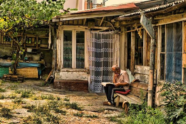 Old Man, Reader, Thoughtful, Human, Read, Book, Study