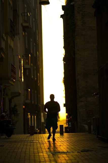 Human, Male, Walk, Navigator, Music, City, Street