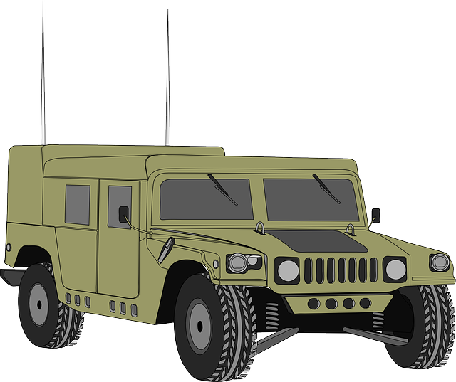 Hummer, Vehicle, Humvee, Hum-v, Armored, Army, War