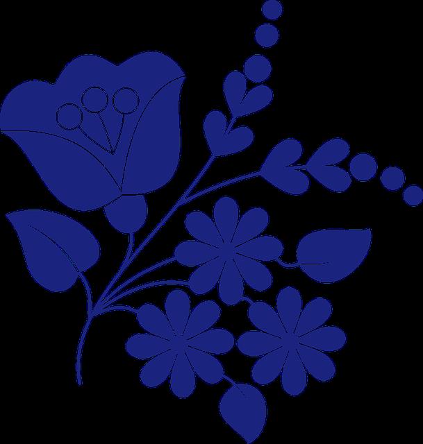 Floral, Sample, Motif, Folk, Traditional, Hungarian