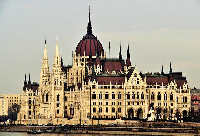 City, Budapest, Hungary, Parliament