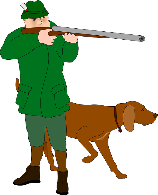 Hunter, Rifleman, Fighter, Huntsman, Dog, Hunt, Hunting