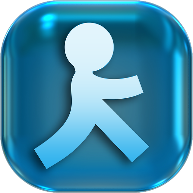 Icons, Symbols, Person, Race, Run, Hurry, Haste, Button