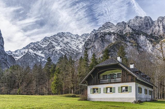 Home, Hut, Saint Bartholomä, Berchtesgaden, Watzmann