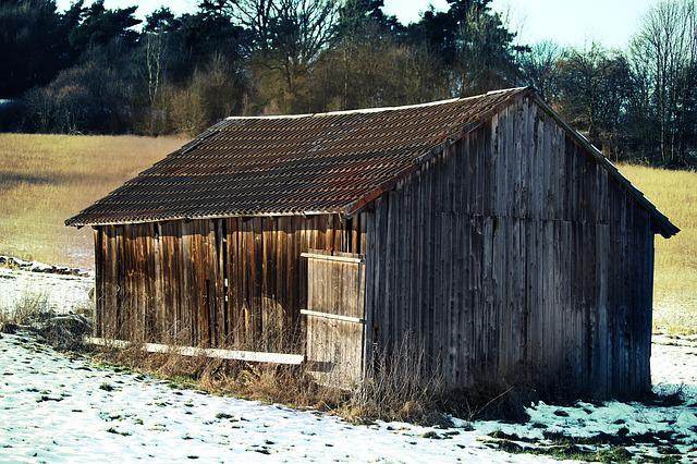 Home, Hut, Vacation, Scale, Old, Hdr