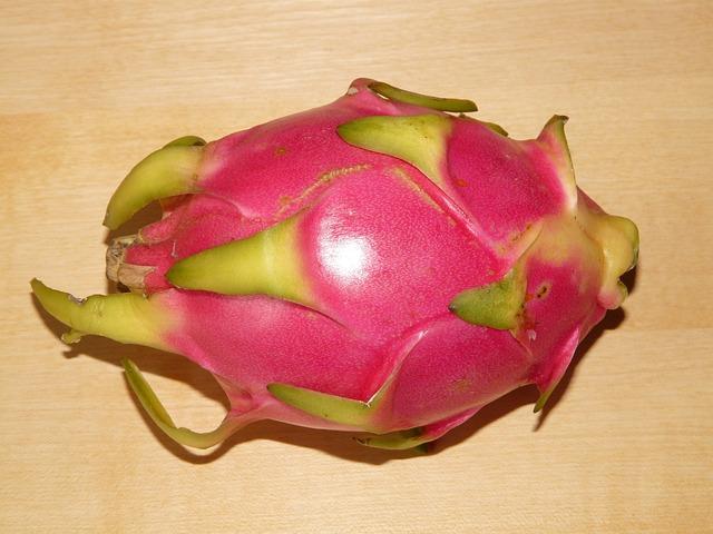 Dragon Fruit, Pitahaya, Pitaya, Hylocereus Monacanthus