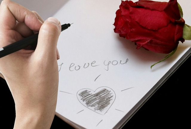 Writing, Message, I Love You, Paper, Love, Font