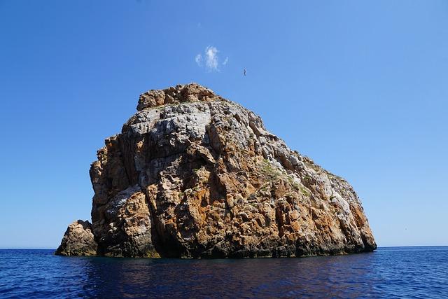 Ibiza, Rock, Sea, Water