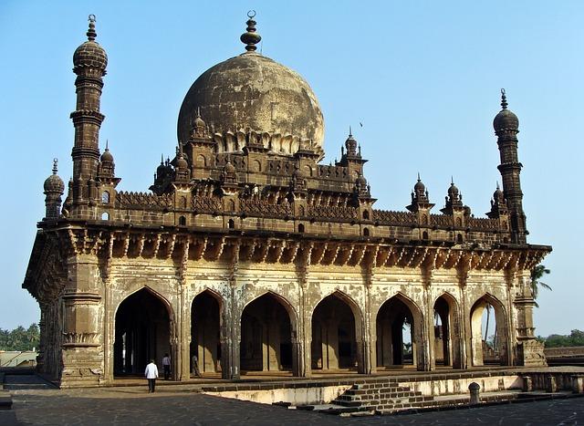Bijapur, Ibrahim Roza, Karnataka, Monument, India