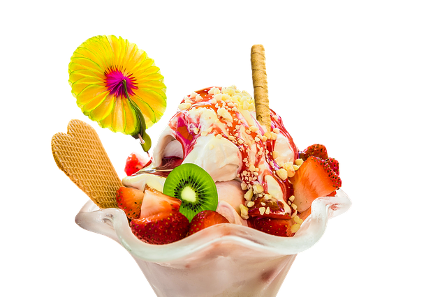 Eat, Ice, Ice Cream Sundae, Ice Cream, Cold, Fruit