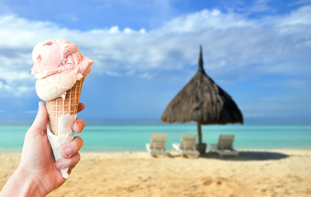 Ice, Milk Ice Cream, Soft Ice Cream, Ice Cream Cone