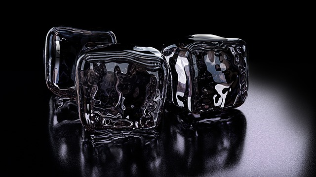 Ice Cubes, 3d, Rendering, Refreshment, Ice, Cold
