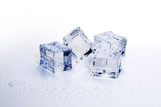 Ice Cubes, Ice, Cold, Frozen, Refreshment, Cube