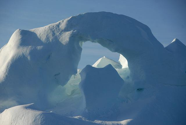 Greenland, Iceberg, Ice, Snow