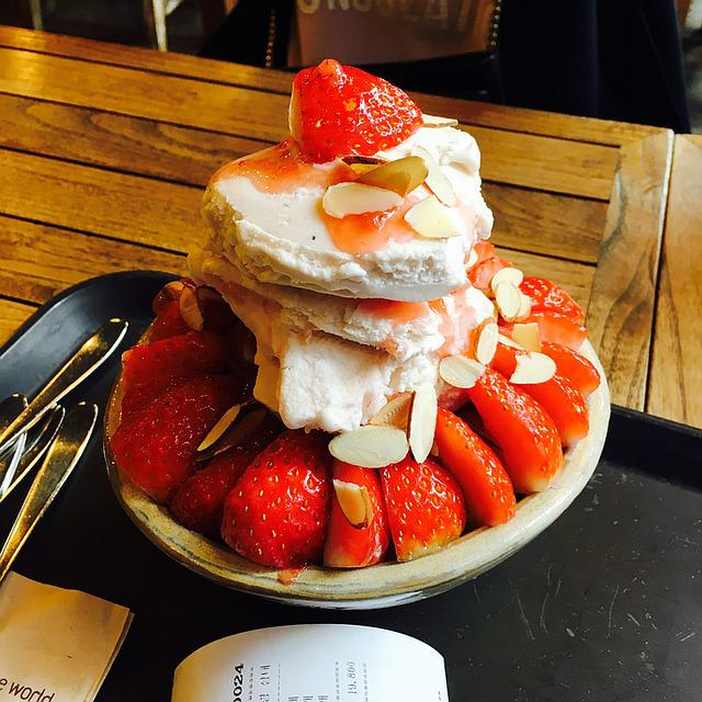 Food, Ice, Ice Cream, Dessert, Sweet, Summer, Cafe