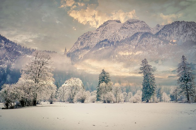 Winter, Wintry, Snow, Nature, Mountains, Cold, Ice