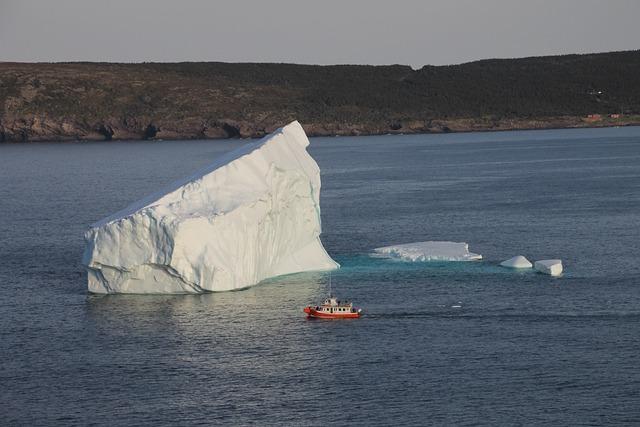 Iceberg, St John's, Newfoundland
