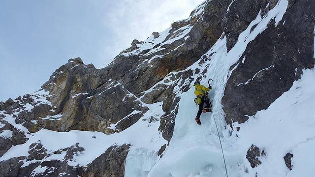 Ice Climbing, Alpinism, North Wall, Icefall