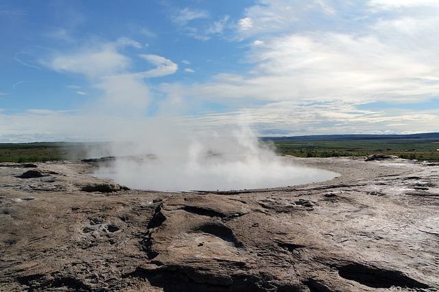 Iceland, Geyser, Geysir, Nature, Hot Springs, Heat