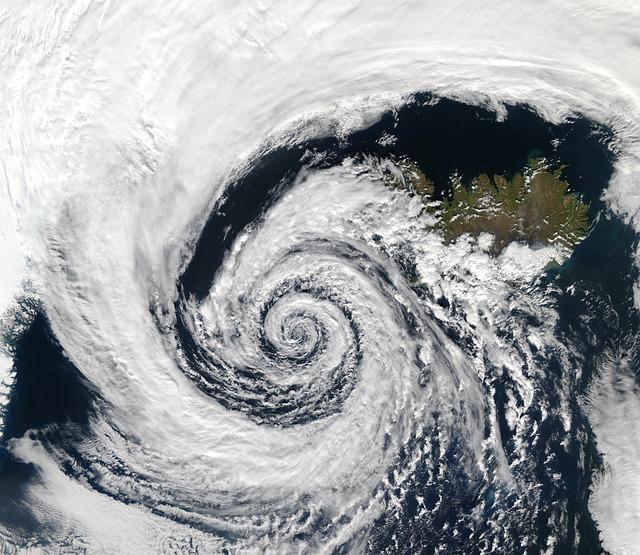 Depression, Cyclone, Iceland, Satellite Record, Weather
