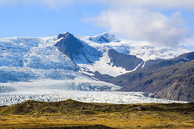 Mountain, Nature, Snow, Travel, Sky, Iceland, Holiday