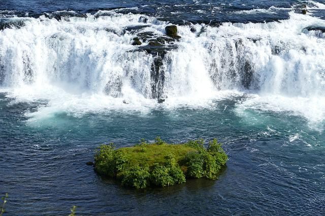 Iceland, Waterfall, Landscape, River, Water, Nature