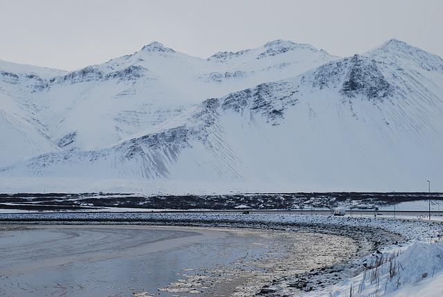 Iceland, Nature, Mountain, Icelandic, Landscape, Snow