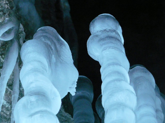 Ice Cave, Icicle, Stalagmites, Ice Formations, Cave