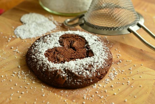 Pastries, Bake, Sweet, Brownie, Icing Sugar, Baked