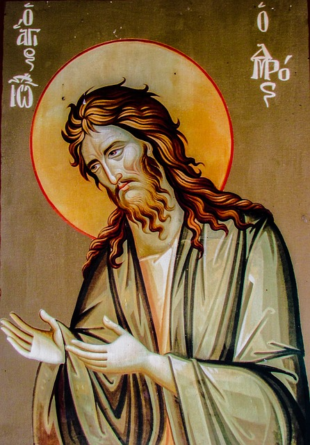 Saint John The Baptist, Icon, Religion, Church, Saint