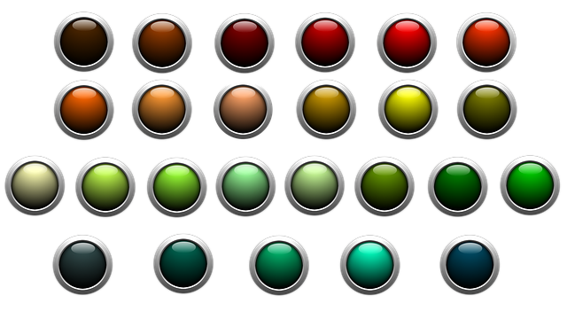 Button, Icon, About, Colorful, Shiny, Edge