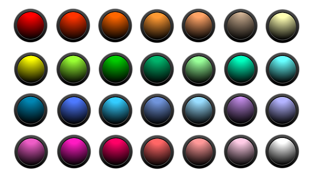 Button, Icon, About, Colorful, Matt, Edge