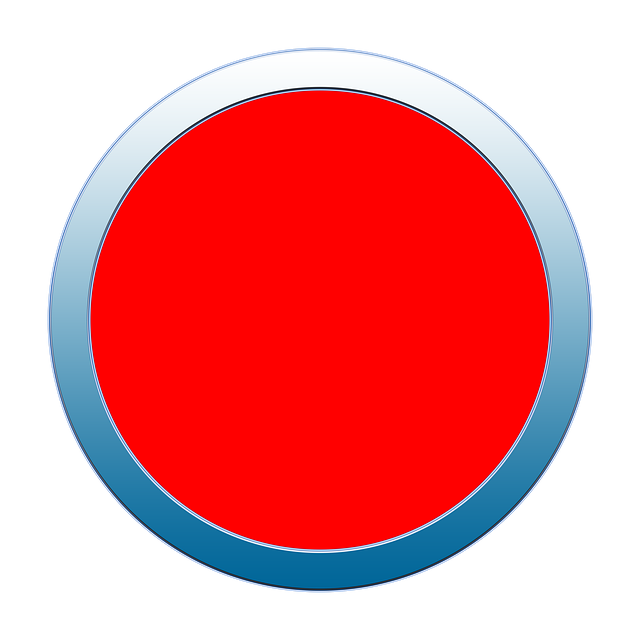 Button, Icon, Red, Stop, Halt, Sign, Warning, Symbol