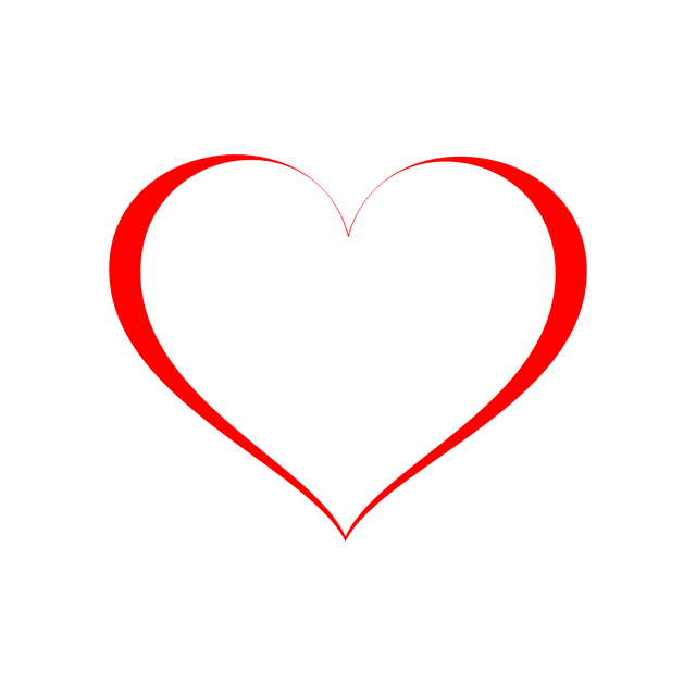 Free Photo Icon Heart Transparent Background Red Love Symbol Max Pixel