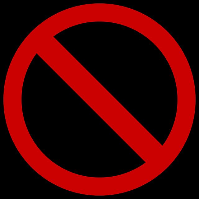Ban, Prohibited, Shield, Icon, Prohibitory