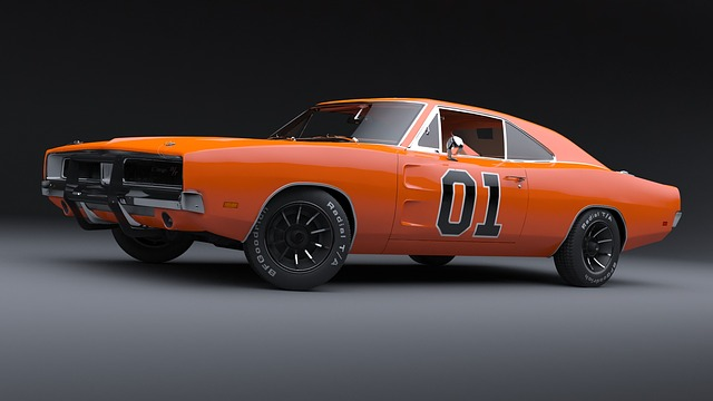 General Lee, Dodge Charger, Muscle Car, Iconic Car