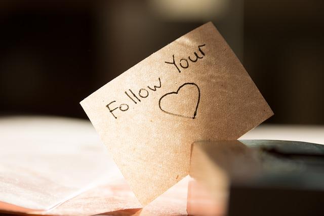 Heart, Follow, Its, Idea, Concept, The Inscription