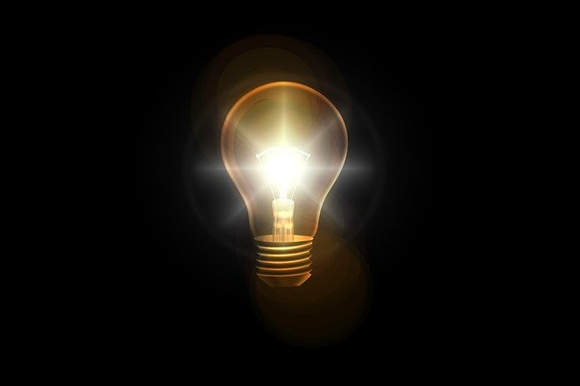 Light Bulb, Think, Idea, Solution, Problem Solution