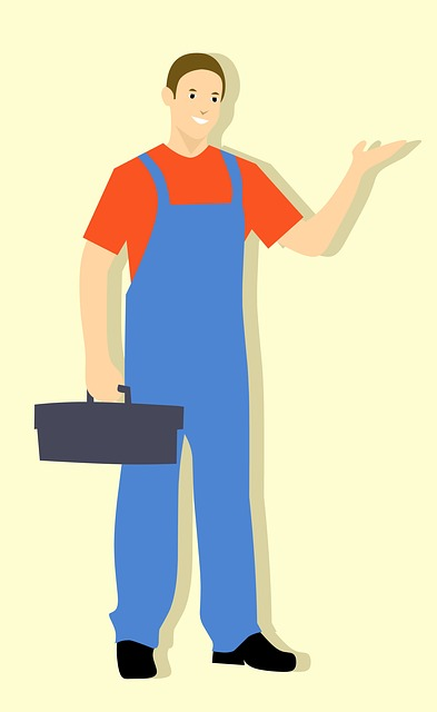 Repairman, Fix, Plumber, Cartoon Character, Idea