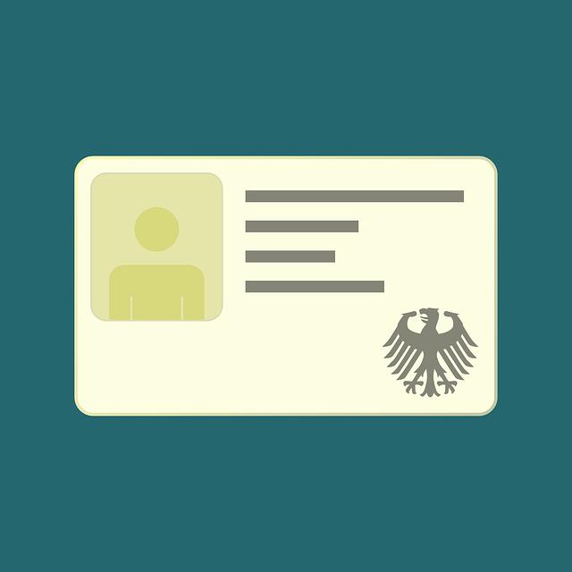 Id, Laminated, Pass, Document, Identity Card